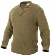 Rothco WWII Vintage Mechanics Sweater Khaki 5349