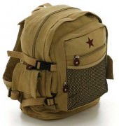 Rothco Vintage Canvas Backpack / Khaki # 9165