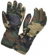 Rothco Extra-Long Insulated Gloves Woodland Camo 4757