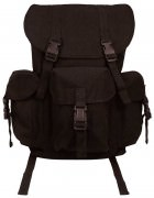 Rothco Canvas Outfitter Backpack / Black # 9202