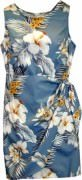 Pacific Legend Hawaiian Sarong Dress - 313-2820 Slate