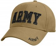 Rothco Deluxe Army Embroidered Low Profile Insignia Cap 8955