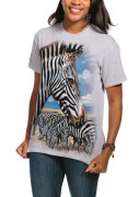 The Mountain T-Shirt Zebra Portrait 105965