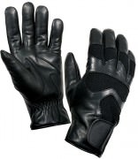 Rothco Cold Weather Leather Shooting Gloves Black 4480