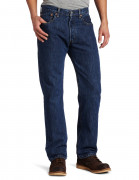 Sale Levi's Men's 501 Original Fit Jean Dark Stonewash 005010194