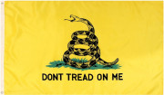 Rothco Deluxe Don't Tread On Me Flag (90x150 см)