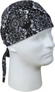 Rothco Trainmen Headwrap Black 5186