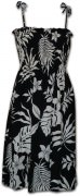 Pacific Legend Rayon Tube Dress - 708-107 Black