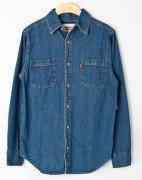 Levi's Men's Classic Denim Workshirt Stonewash 381001CC