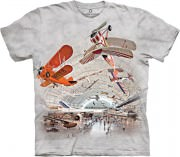 The Mountain T-shirt Boeing Aviation Hangar 437111