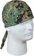 Rothco Headwrap Woodland Digital Camo 5196