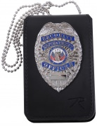 Rothco Universal Leather Badge & ID Holder - 1136