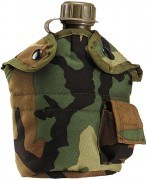 Чехол G.I. Plus™ LC-2 Water 1 Quart Canteen Cover - Woodland Camo
