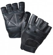 Перчатки Rothco Fingerless Biker Gloves - Black # 3498