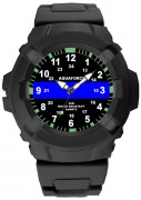 Aquaforce Thin Blue Line Watch - 4381