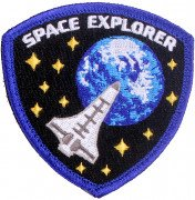 Rothco Morale Velcro Color Patch Space Explorer 1882