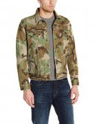 Levi's Men's The Trucker Jacket Woodland Camo