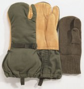 Rothco G.I. Leather Trigger Finger Mittens 4394
